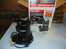 Everbilt 3/4 HP Professional Sump Pump