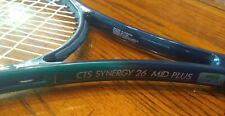 Prince Cts Synergy 26 Mid Plus Tennis Racquet 4 1/2 Liquid Crystal Polymer