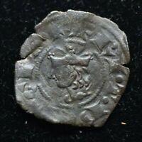 1296-1337 Denaro Italy Sicily Federico III Denaro Coin Crusader coin