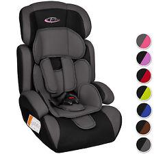 Silla de coche para niños Grupos 1 2 3 pesos de 9-36 kg  - en diferentes colores