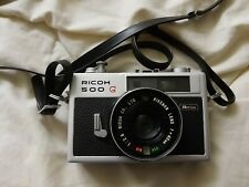 Ricoh 500G - Rikenon 1:2,8 40mm Lens (Untested, shutter works, worn condition)