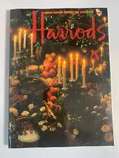 Rare Harrods Christmas 1984 Magazine/Catalog
