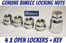 Locking Wheel Nuts S Open M12x1.5 Fits Hyundai Getz i10 i20 Lantra Matrix