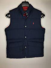 Boy's Polo Ralph Lauren Reversible Goose Down Puffer Vest •Size L (14-16) *EUC