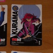 YUYU HAKUSHO CARDDASS CARD REG REGULAR CARTE 12 MADE IN JAPAN **
