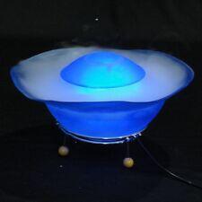 LAMPADA UMIDIFICATORE OSSIGENO ATOMIZZATORE DESIGN LED RGB CASA SPA TAVOLO CROMO