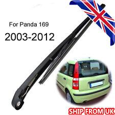 For Fiat Panda 169 Hatchback Box 2003-2012 Rear Windscreen Wiper Blade & Arm Set