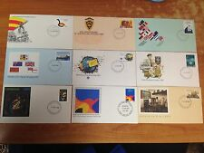 Bulk Lot of 87 Vintage First Day Covers - 1979 to 1987