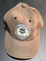 Olympic Winter Games 2002 Salt Lake City Utah Strap Back Hat Baseball Cap NWOT
