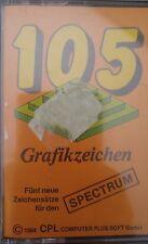 105 caratteri grafici Spectrum 48k (TAPE) (Game, imballaggio)