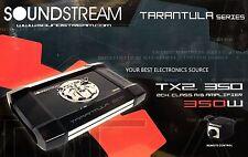 NEW Soundstream TX2.350 2-Channel Car Audio Amplifier