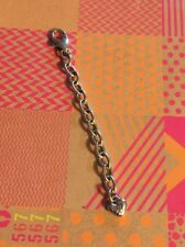BRIGHTON SILVER Oval EXTENDER For Bracelet Or Necklace Sparkle Beautiful 3��