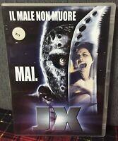 Jason X il Male Non Muore Mai DVD JX Venerdì 13 Ex Noleggio Come da Foto N