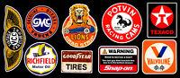 Motor Parts Vinyl Sticker Pack #2