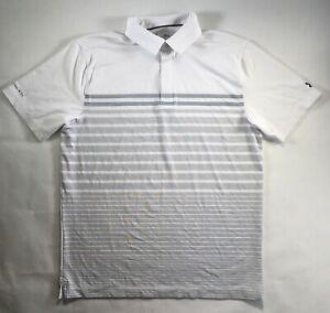 Under Armour Polo Coldblack Groove Stripe Golf Shirt More Colors S M L XL DEFECT