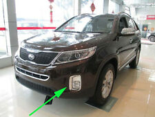 Chrome Front Fog Light Cover trim for 2013-2014 KIA Sorento Light