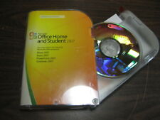 Microsoft Office 2007 Home and Student Edition Software with Product Key -S1
