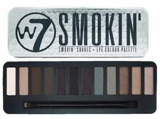 W7 Eye Shadow Palette Smokin Shades Make Up Colour Smokey Eye