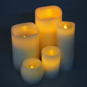 Flameless LED Candle Light Battery Operated