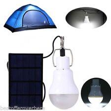 S-1200 130LM Portable LED Ball Bulb Light Energy Saving Lamp Charged Solar Panel