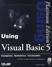 Using Visual Basic 5 (PLATINUM EDITION USING) by Eidahl, Loren