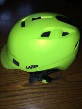 Lazer Dissent Bike/Snowboard Winter Helmet Large(59-62)  Neon Yellow/green.