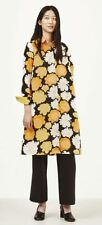 MARIMEKKO TRINA DRESS SIZE 38 WORN ONCE YELLOW BLACK WHITE FLORAL PRINT