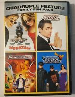 Quadruple Feature Family Fun Pack - ThunderBirds, Fat Liar Bullwinkle (DVD 2008)