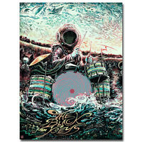 The Black Keys Music Band Psychedelic Art Silk Poster 13x18 24x32 inch 002