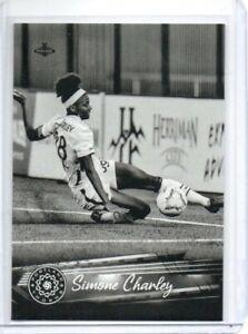 2021 Parkside NWSL Black & White Parallel Simone Charley #193 Women's Soccer