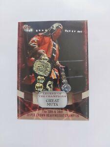 AJPW - Great Muta - Legend of the Champions - 2011 BBM Trading Card
