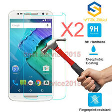 2Pcs 9H Tempered Glass Screen Protector For Motorola Moto X Pure Edition / Style
