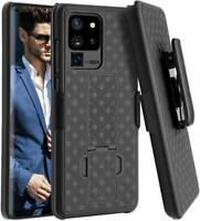 For GALAXY S20 ULTRA - CASE BELT CLIP HOLSTER SWIVEL COVER KICKSTAND ARMOR COMBO