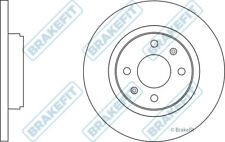 RENAULT TWINGO Mk3 1.0 2x Brake Discs (Pair) Solid Front 14 to 19 H4D400 259mm