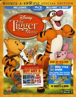 The Tigger Movie [New Blu-ray] With DVD, Poster, Special Edition, Subtitled, W