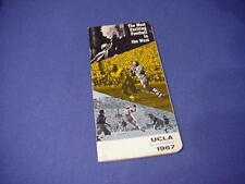 1967 UCLA Bruins Football Media Guide - Gary Beban