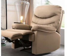 Walnew Power Lift Recliner with Massage and Heat, Beige, Remote Controlled