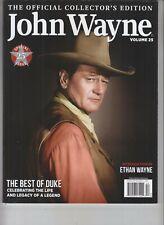 John Wayne Volume 25 Collector'S Edition Magazine Booklet Oct 2018 Topix Media