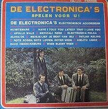 DE ELECTRONICA'S SPELEN VOOR U - LP