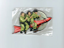 New THE THREE 3 STOOGES IN SPACE LARRY CURLY MOE Thick Acrylic MAGNET