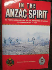 Battalion History 4th RAR Vietnam War 1968-69 In Anzac Spirit Military Book