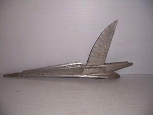 Vintage 1954 Ford Crestline Winged Eagle Bird Hood Ornament Hot Rod Rat Rod