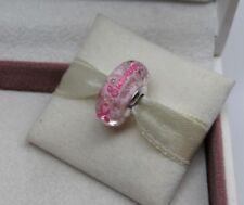 New w/Hinged Box Pandora Survivor BCA Charm ENG7921670_1 Breast Cancer Awareness
