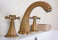 Rome Red Antique Copper Single Handle Bathroom Basin Mixer Tap Faucet snn021