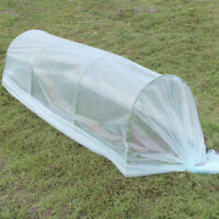 2x1m Plastic Covering Greenhouse Film Fits for Grow Tunnel//Plant Cover
