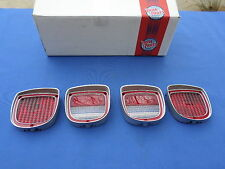 NEW 1973-77 Chevrolet El Camino Tail Light & Back Up Lamp Lens - Full Set of 4