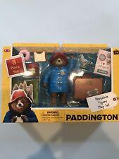 Paddington Bear Figure & Suitcase 8 Pc Set