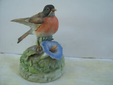 "Vintage Gorham of Japan Bluebird Figurine Music Box Good Condition 5.5"" Tall"