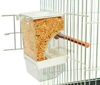 Lot Of 4 Bird Cage Auto Food Seed Feeder Automatic European Premium Quality