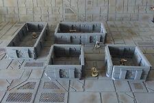 Wargame Scenery-Sci Fi murs/corridor Set x 20 pieces-Set 2